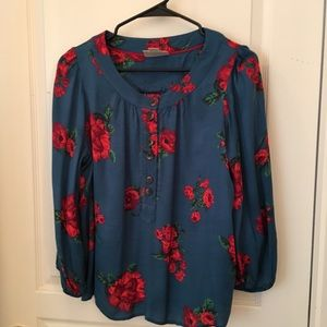 Maeve Anthropologie 3/4 shirt
